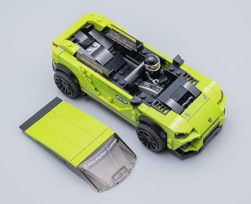 LEGO Speed Champions - Lamborghini Urus ST-X E Lamborghini Huracan Super Trofeo EVO