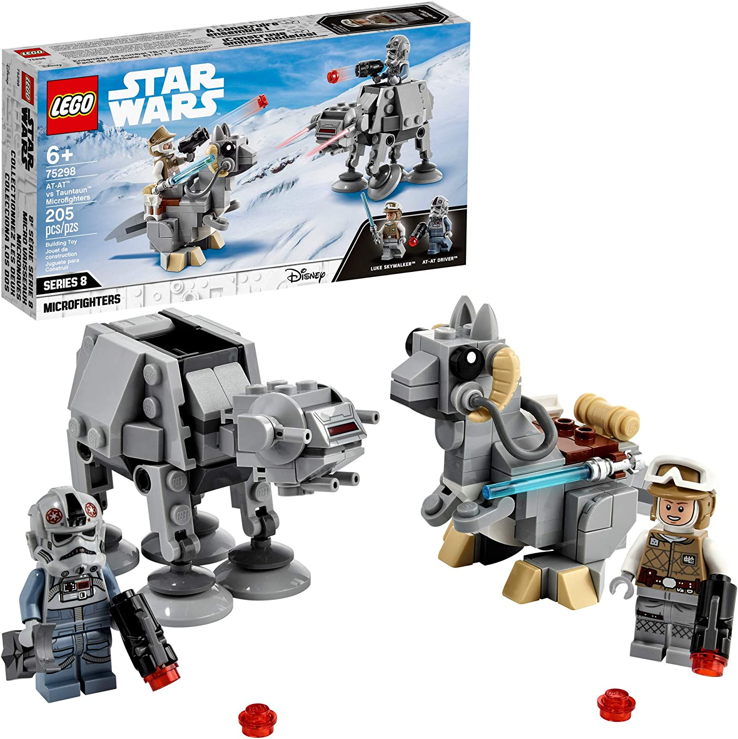 LEGO Star Wars  - AT-AT™ contra Microfighters Tauntaun 75298