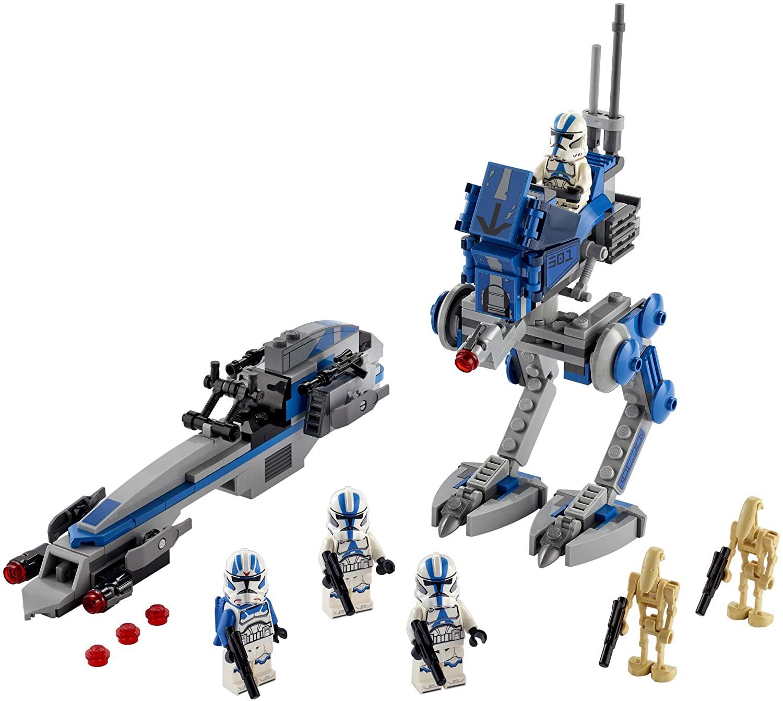 LEGO Star Wars - Soldados Clone da 501ª Legião 75280