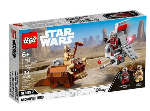 LEGO STAR WARS - T-16 Skyhopper vs Bantha  75265