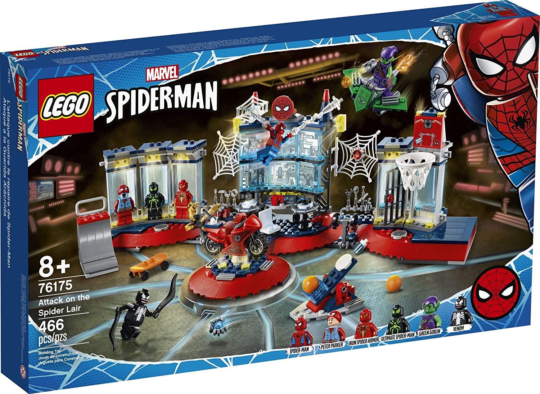 LEGO Super Heroes - Ataque ao Abrigo de Spider-Man 76175