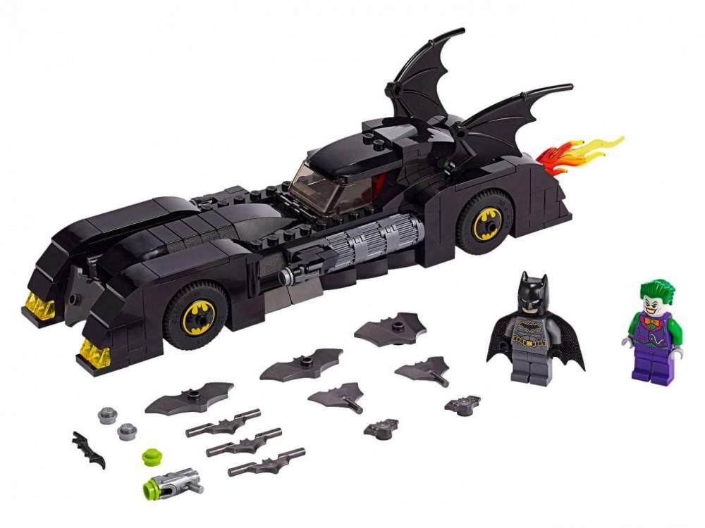 LEGO Super Heroes DC Comics - Batmóvel: Perseguição ao Coringa 76119