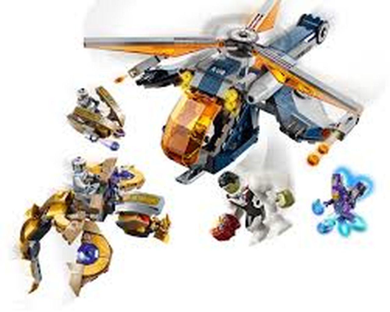 LEGO SUPER HEROES - Largada de Helicóptero de Hulk 76144