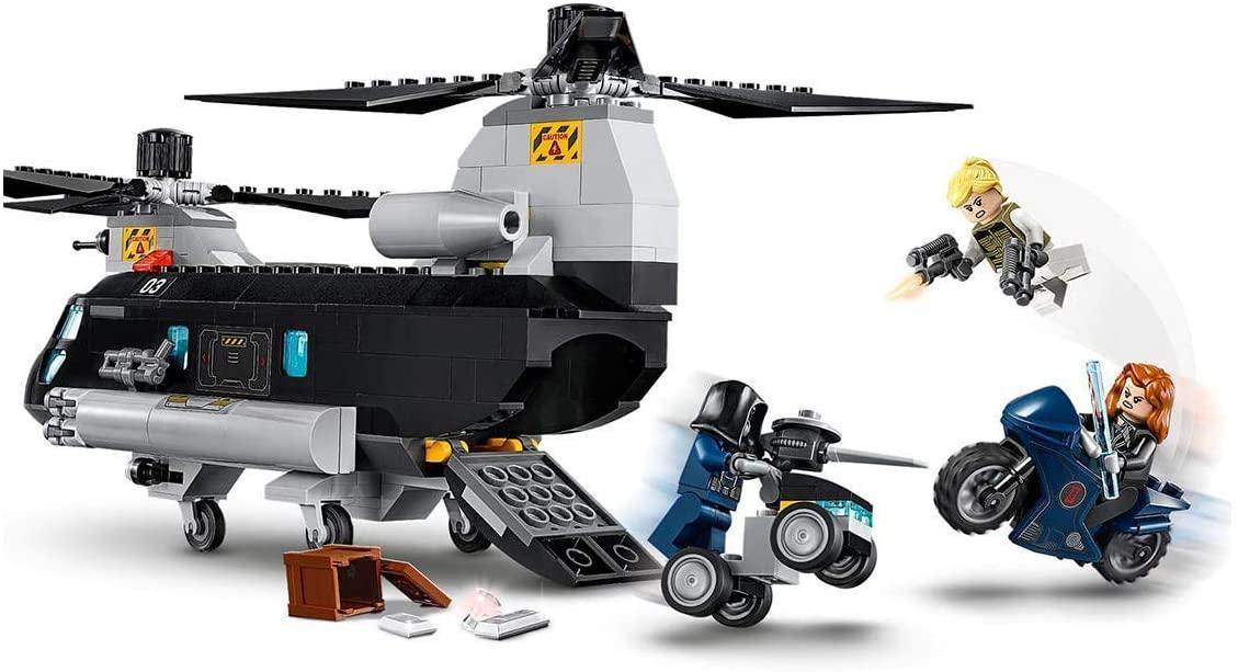 LEGO Super Heroes Marvel - Perseguição de Helicóptero da Viúva Negra 76162