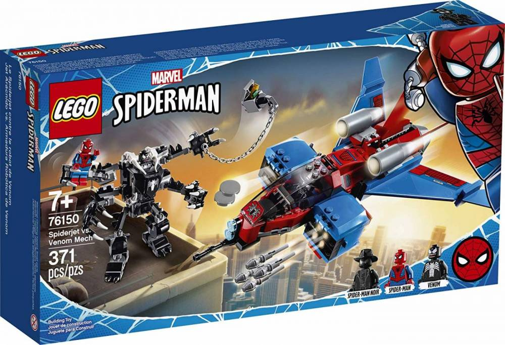 LEGO Super Heroes - Spiderjet vs. Robo Venom