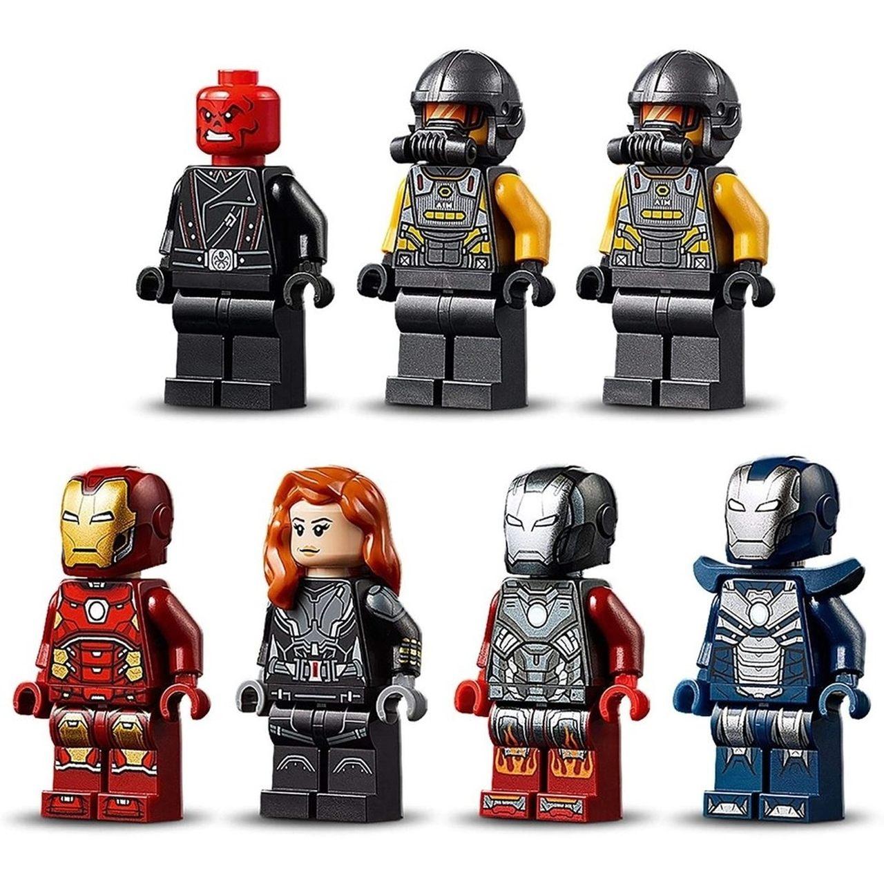 LEGO Super Heroes Vingadores - Combate Na Torre Dos Vingadores 76166