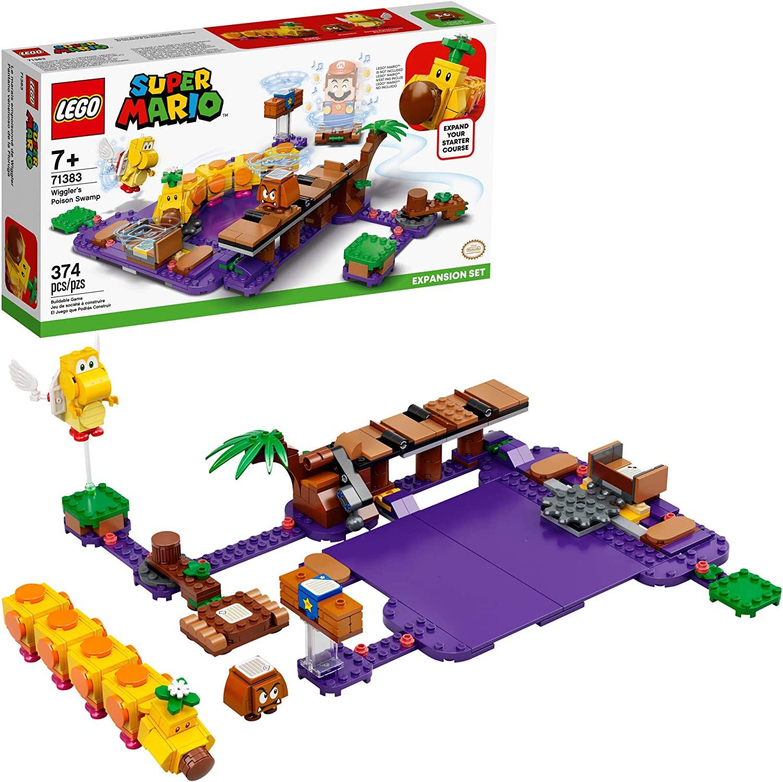LEGO Super Mario - Pacote de Expansão - O Pântano Venenoso de Wiggler - 71383