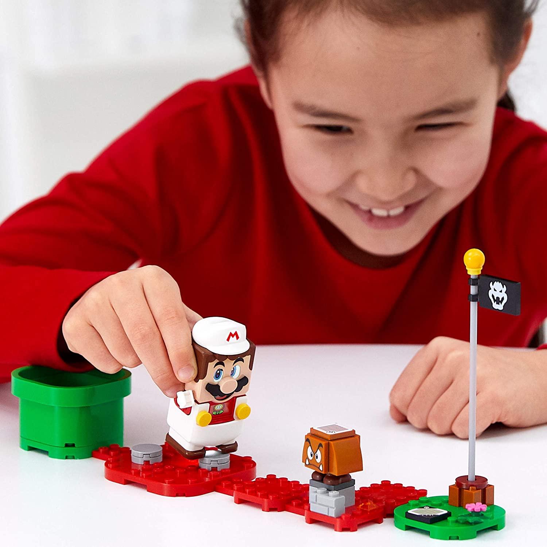 LEGO Super Mario - Pacote Power Up - Mario de fogo 71370