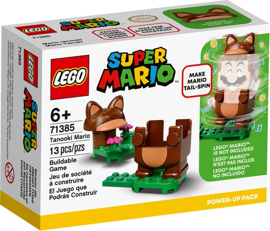 LEGO Super Mario - Pacote Power-Up - Mario Tanooki - 71385