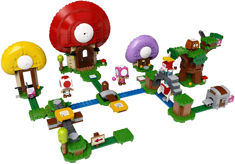 LEGO SUPER MARIO Set de Expansão - A Caça ao Tesouro de Toad  71368