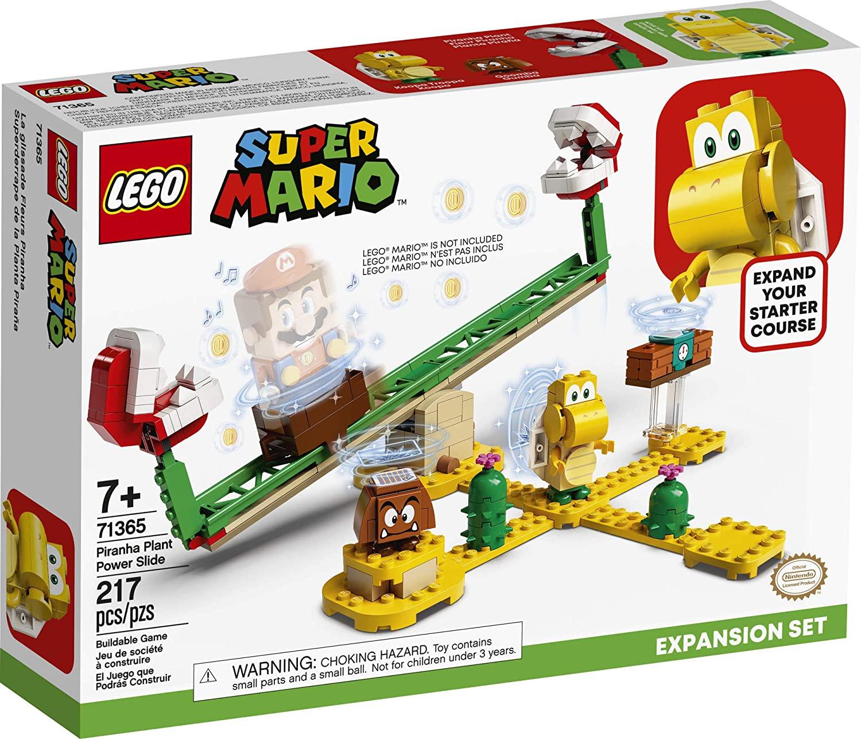 LEGO SUPER MARIO Set de Expansão - Derrapagem da planta Piranha 71365