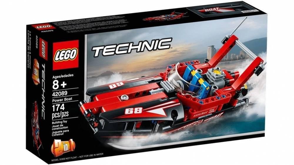 LEGO Technic - Modelo 2 em 1: Potentes Barcos a Motor 42089