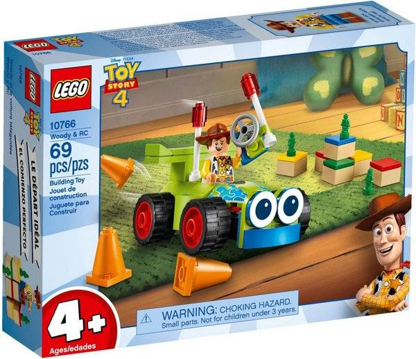 LEGO Toy Story - Woody & RC 10766