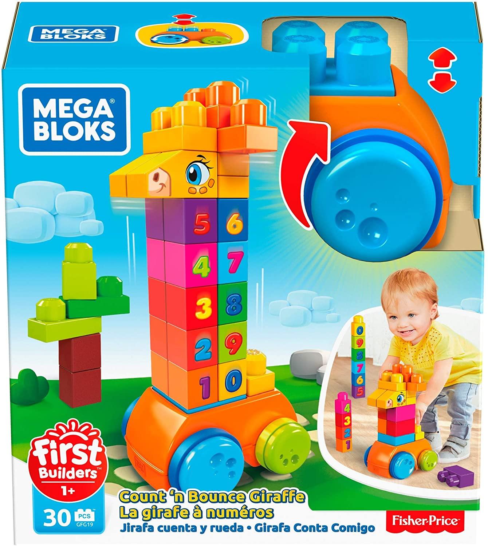 Mega Blocks - Girafa Conta e Brinca