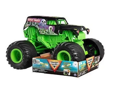 Monster JAM Escala 1:10 Grave Digger