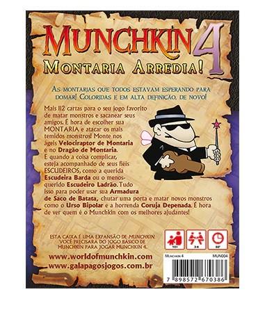MUNCHKIN 4: Montaria Arredia (Expansão)