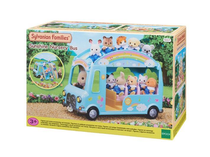 Ônibus Arco-Íris Sylvanian Families