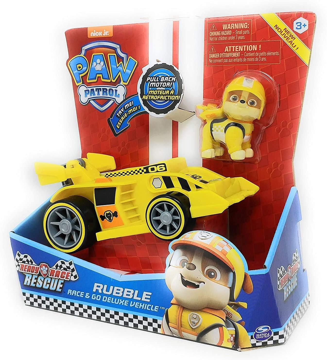 Patrulha Canina -  Carro Rubble Rescue Racers com Som