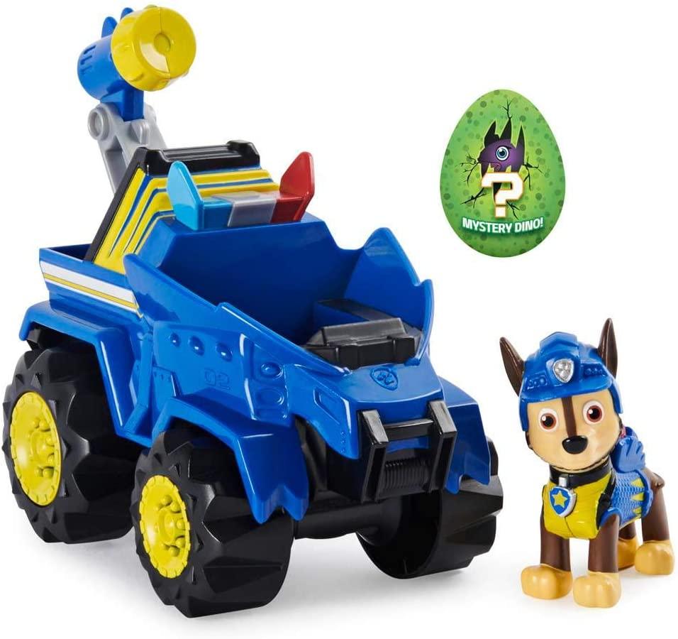 Patrulha Canina - Dino Rescue Chase com Veículo