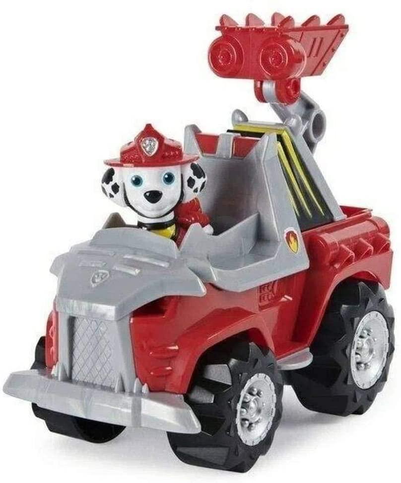 Patrulha Canina - Dino Rescue Marshall com Veículo
