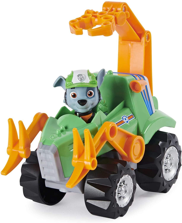 Patrulha Canina - Dino Rescue Rocky com Veículo