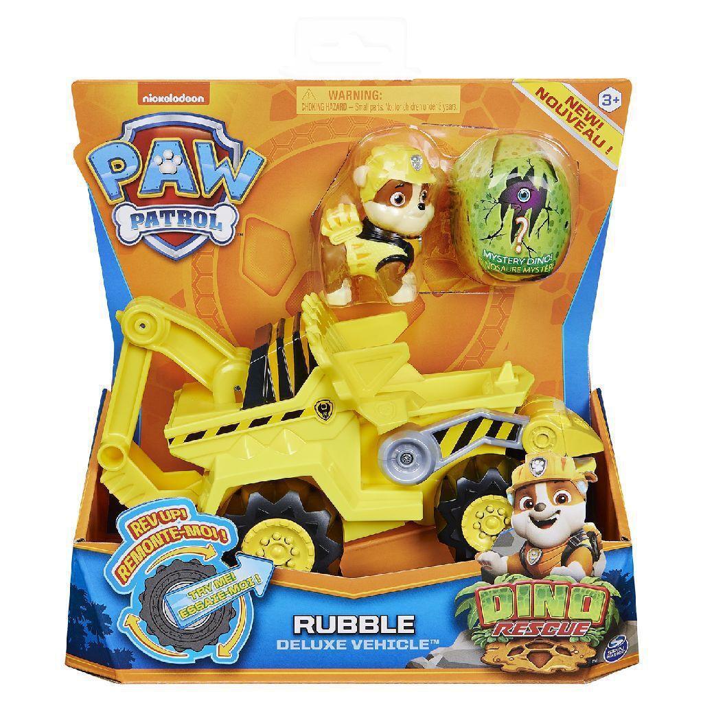 Patrulha Canina - Dino Rescue Rubble com Veículo