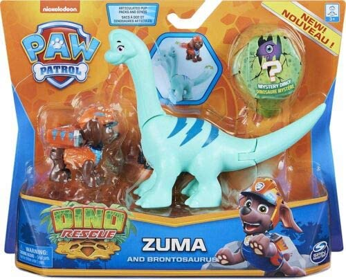 Patrulha Canina-  Dino Resgate Zuma e Brontosaurus