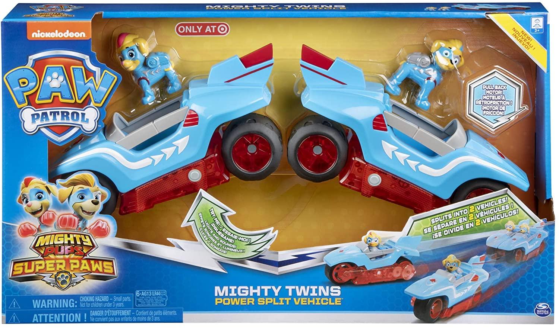 Patrulha Canina - Mighty Twins Veículo 2 em 1
