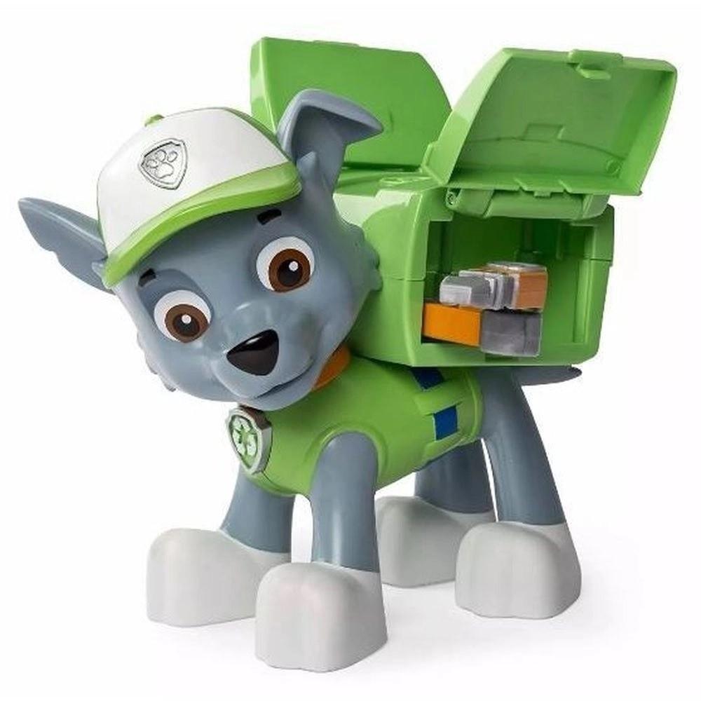 Patrulha Canina - Rocky Figura De Ação Jumbo