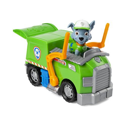 Patrulha Canina - Veículo Com Figura Básica Rocky