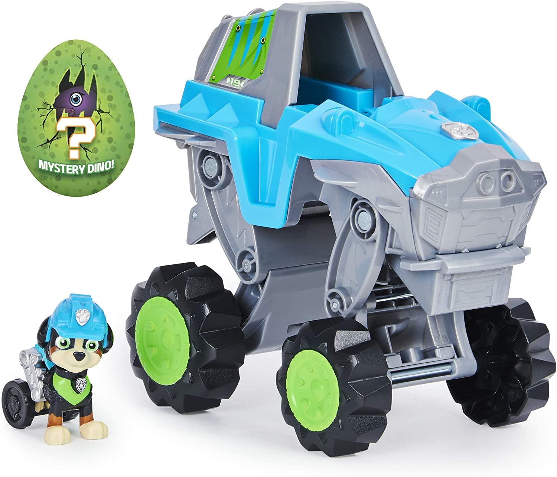Patrulha Canina -  Veículo Deluxe Rex com Dino figura de resgate