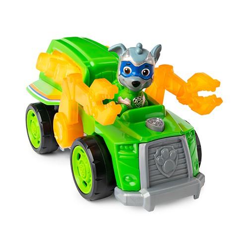 Patrulha Canina - Veículo Mighty Pups Rocky