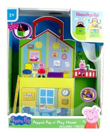 Peppa Pig -  Casa Maletinha Popn' Play