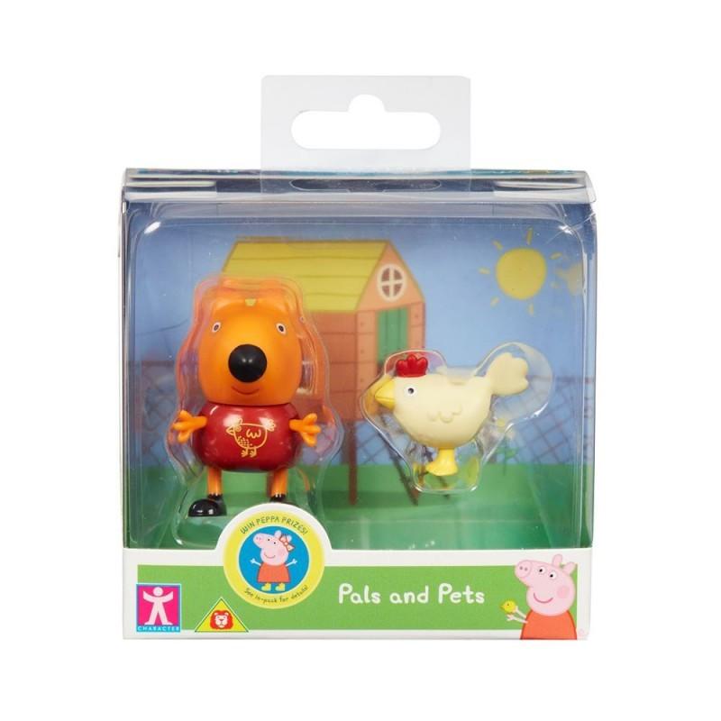 Peppa Pig - Fred e Pet Galinha