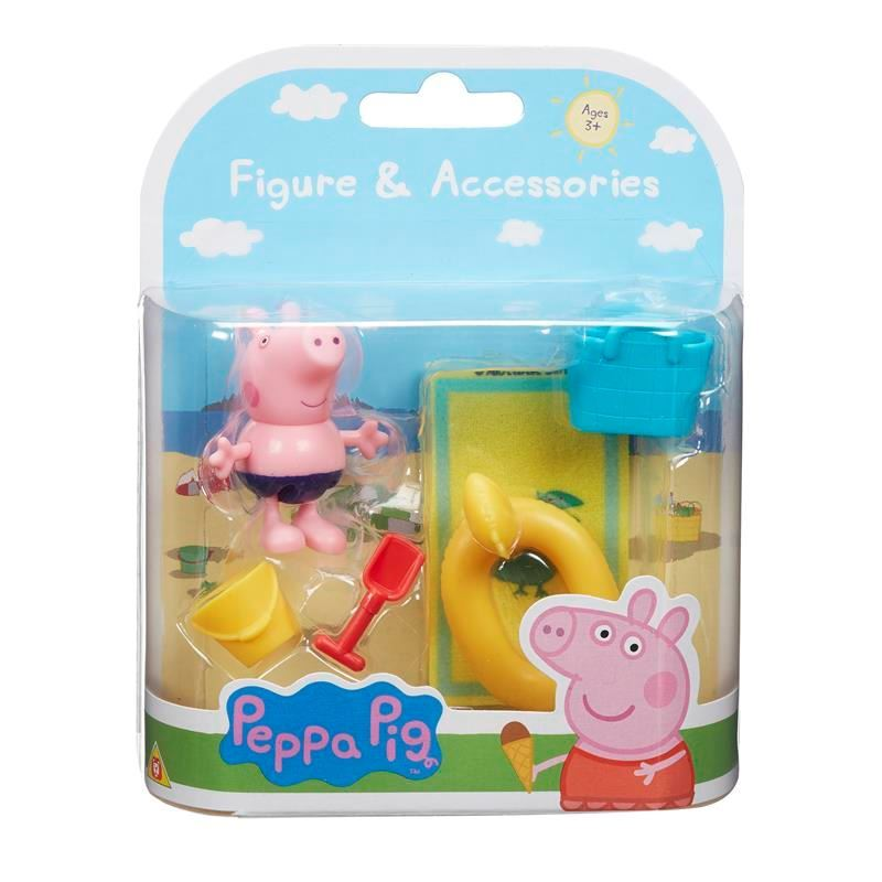 Peppa Pig - George vai á praia