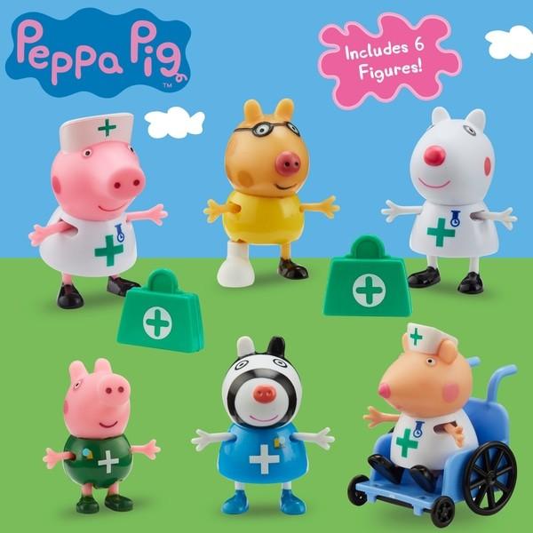 Peppa Pig Médicos e Enfermeiros