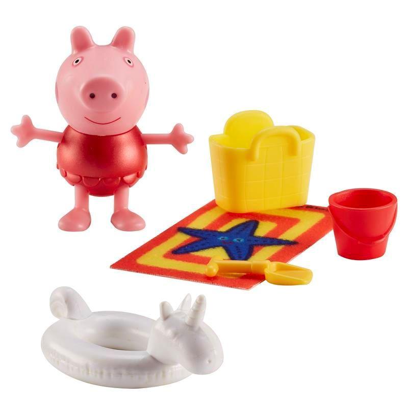 Peppa Pig - Peppa Maiô Vermelho vai a praia