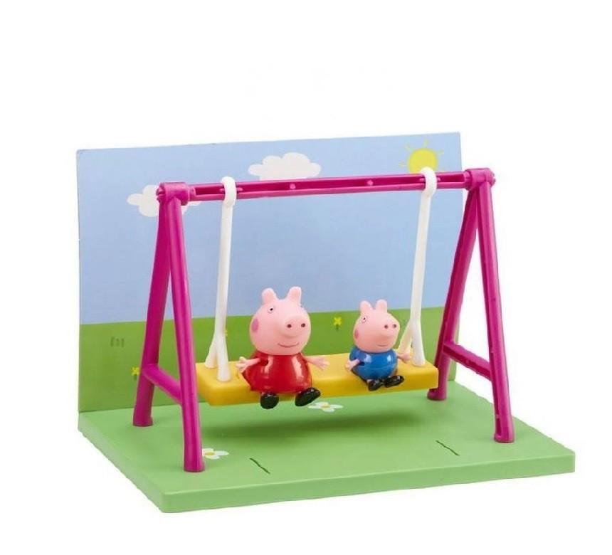 Peppa Pig - Playground - Balanço