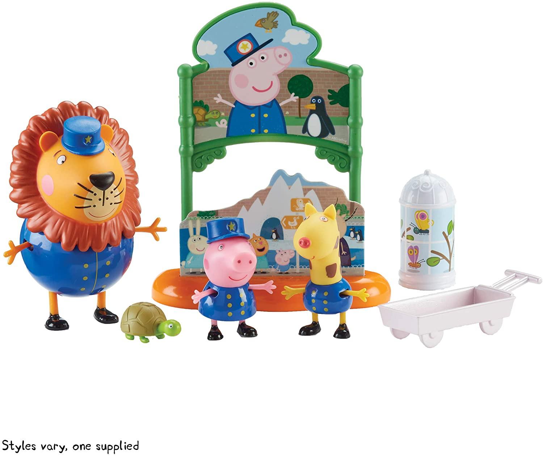 Peppa Pig Playset - Dia no Zoológico