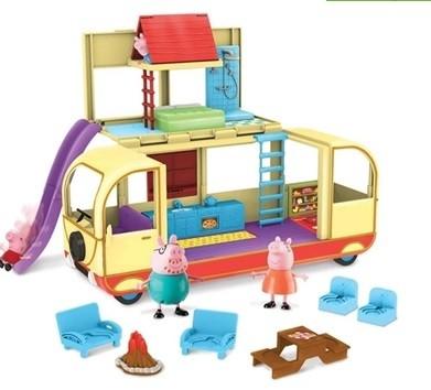 Peppa Pig - Veículo Van para Acampar