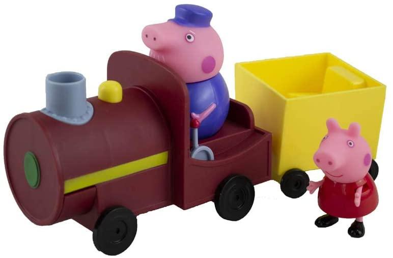 Peppa Pig - Vovô Pig Maquinista Com Trenzinho