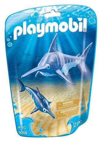 Playmobil Animais Marinhos - Peixe Espada e Filhote 9068