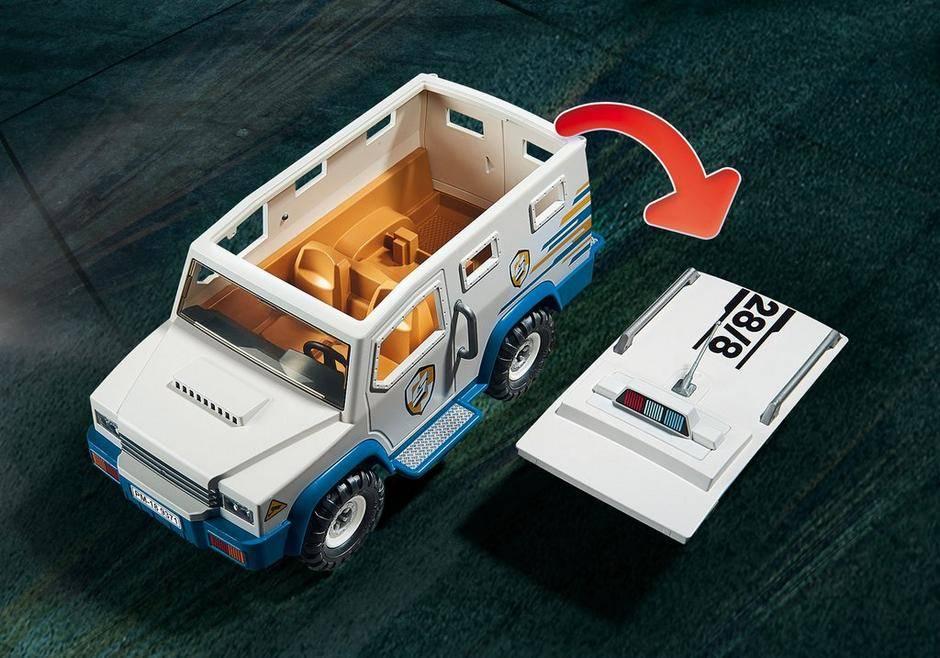 Playmobil Carro forte da Polícia Blindado