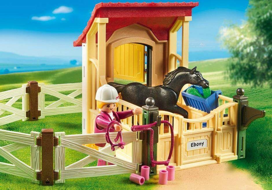 Playmobil Cavalo com Estábulo