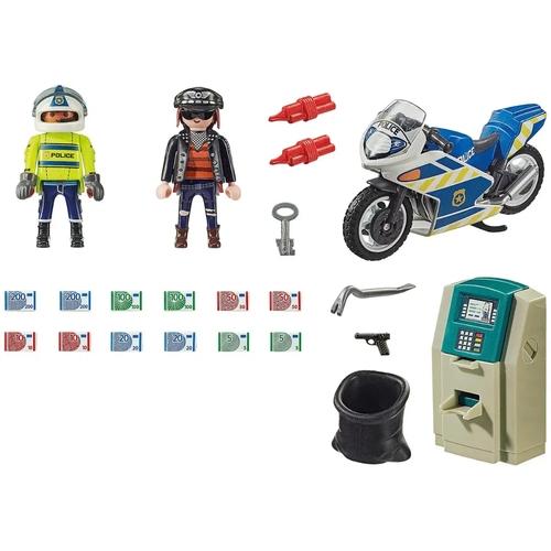 Playmobil City Action - Caixa Eletrônico Com Policial e Fugitivo 70572