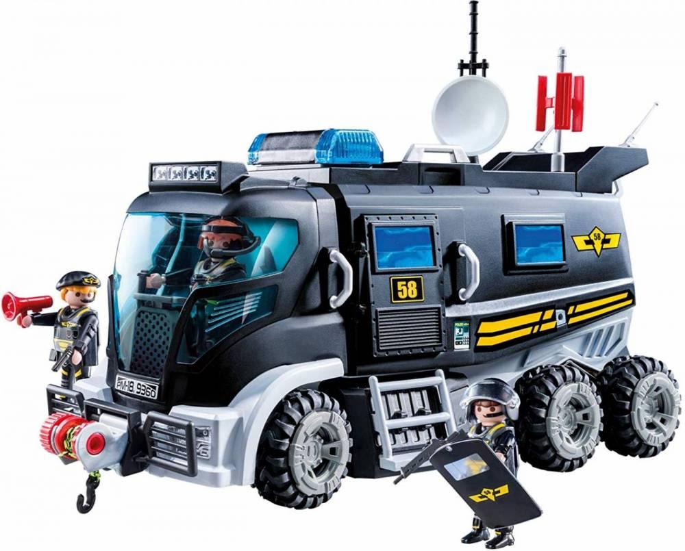Playmobil City Action - Caminhão de Unidade Tática 9360