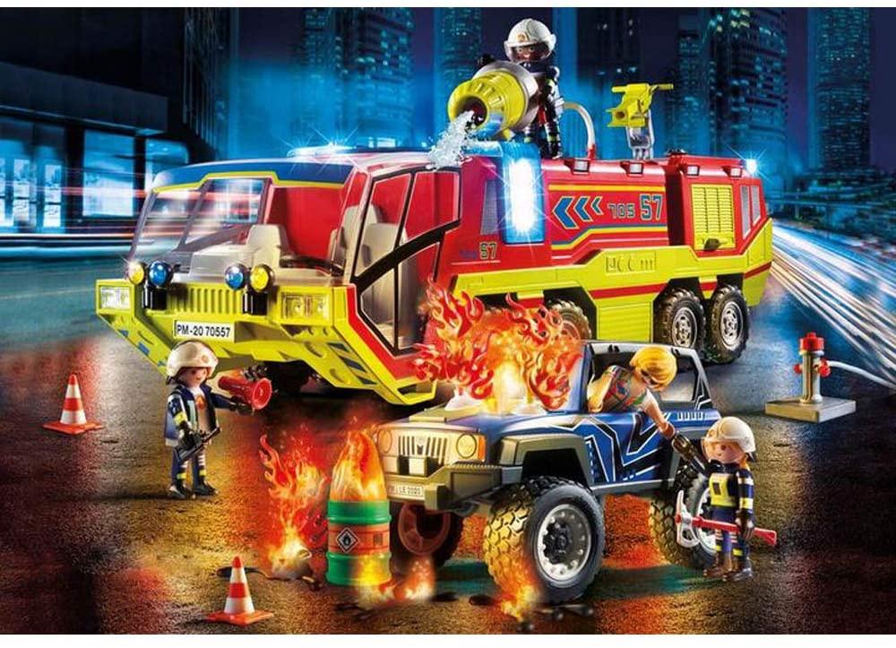 Playmobil City Action - Carro de Bombeiros com Caminhão 70557