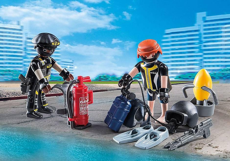 Playmobil City Action - Equipe de Unidade Tática 9365