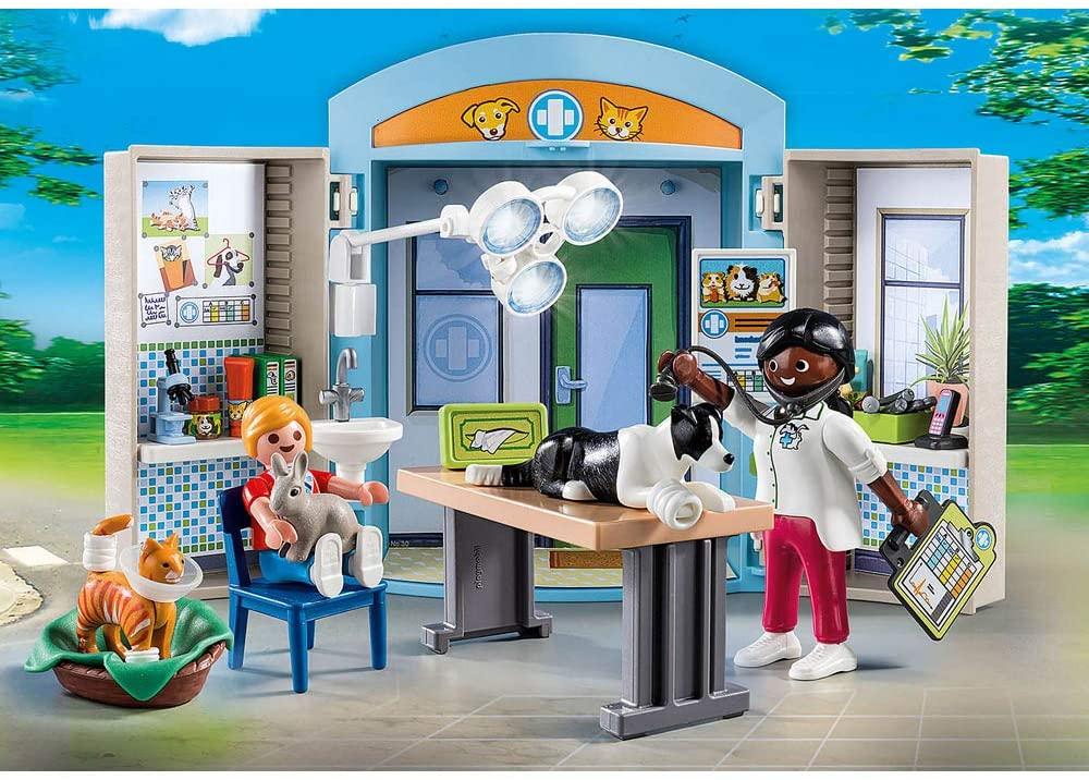 Playmobil City Life - Play Box Clinica Veterinária 70309