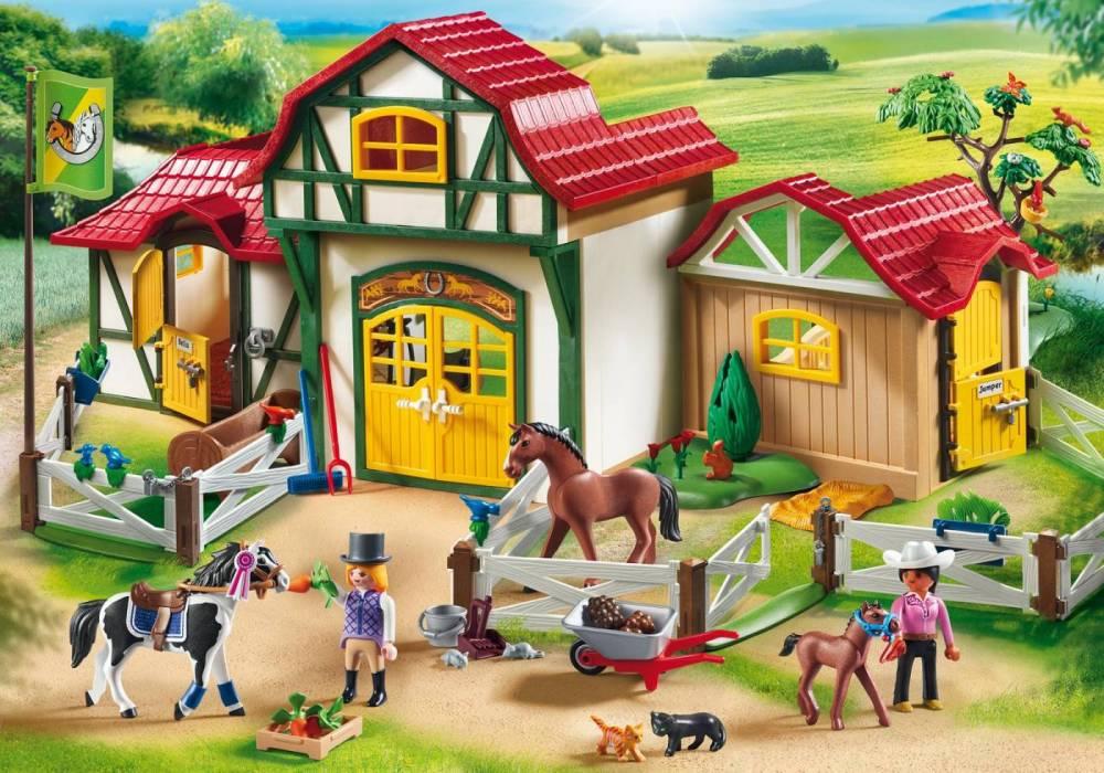 Playmobil Country - Fazenda de Cavalos com Cercado 6926